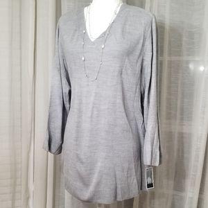 Karen Scott v-neck sweater sz 1X NWT